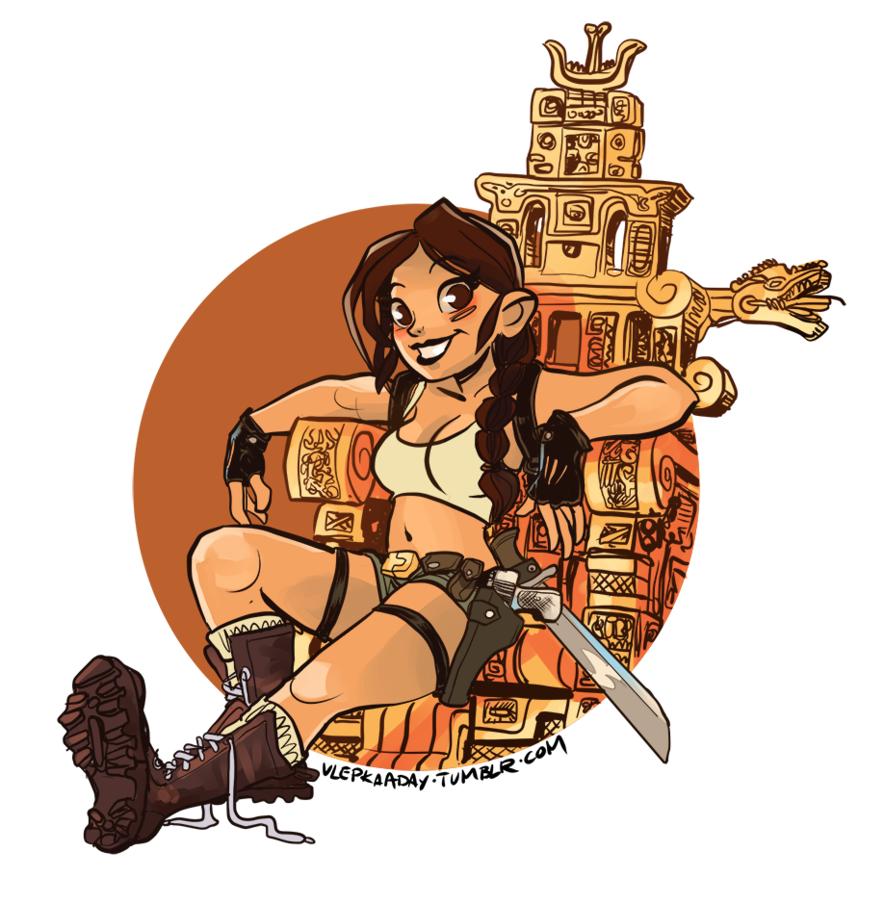 Lara clipart clipart freeuse stock 97+ Tomb Raider Clipart | ClipartLook clipart freeuse stock