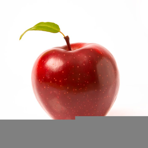 Large apple clipart graphic freeuse stock One Large Red Apple Clipart | Free Images at Clker.com - vector clip ... graphic freeuse stock