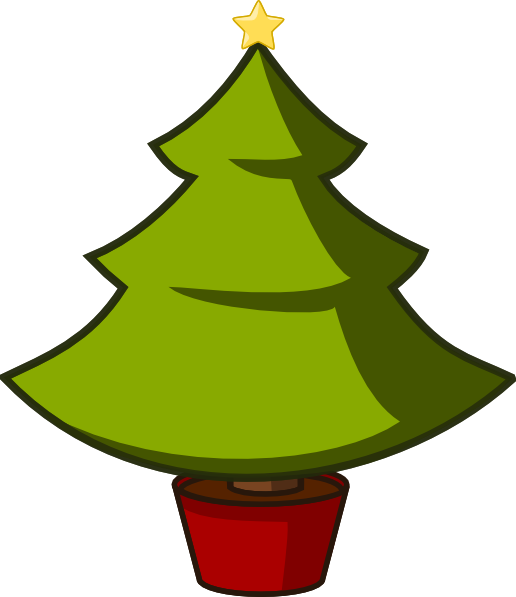 Large christmas tree clipart banner royalty free download Christmas Tree Clip Art at Clker.com - vector clip art online ... banner royalty free download