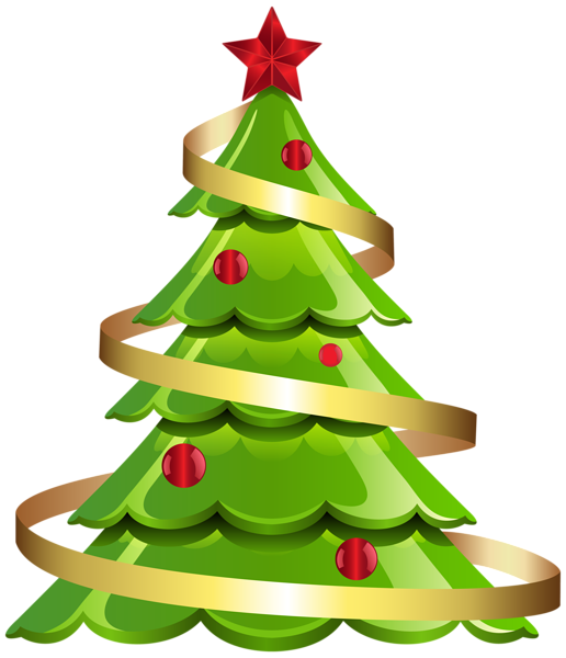 Large christmas tree clipart vector free stock Gallery - Christmas PNG vector free stock