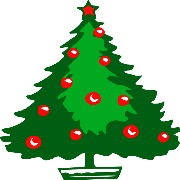 Large christmas tree clipart svg free stock Christmas Tree Clip Art at Clker.com - vector clip art online ... svg free stock