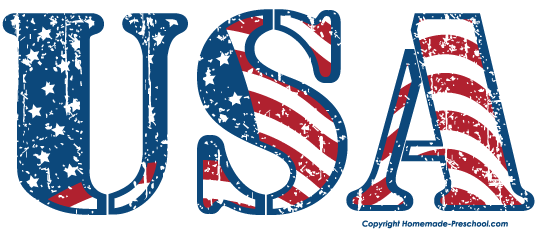 Free American Flags Clipart vector download