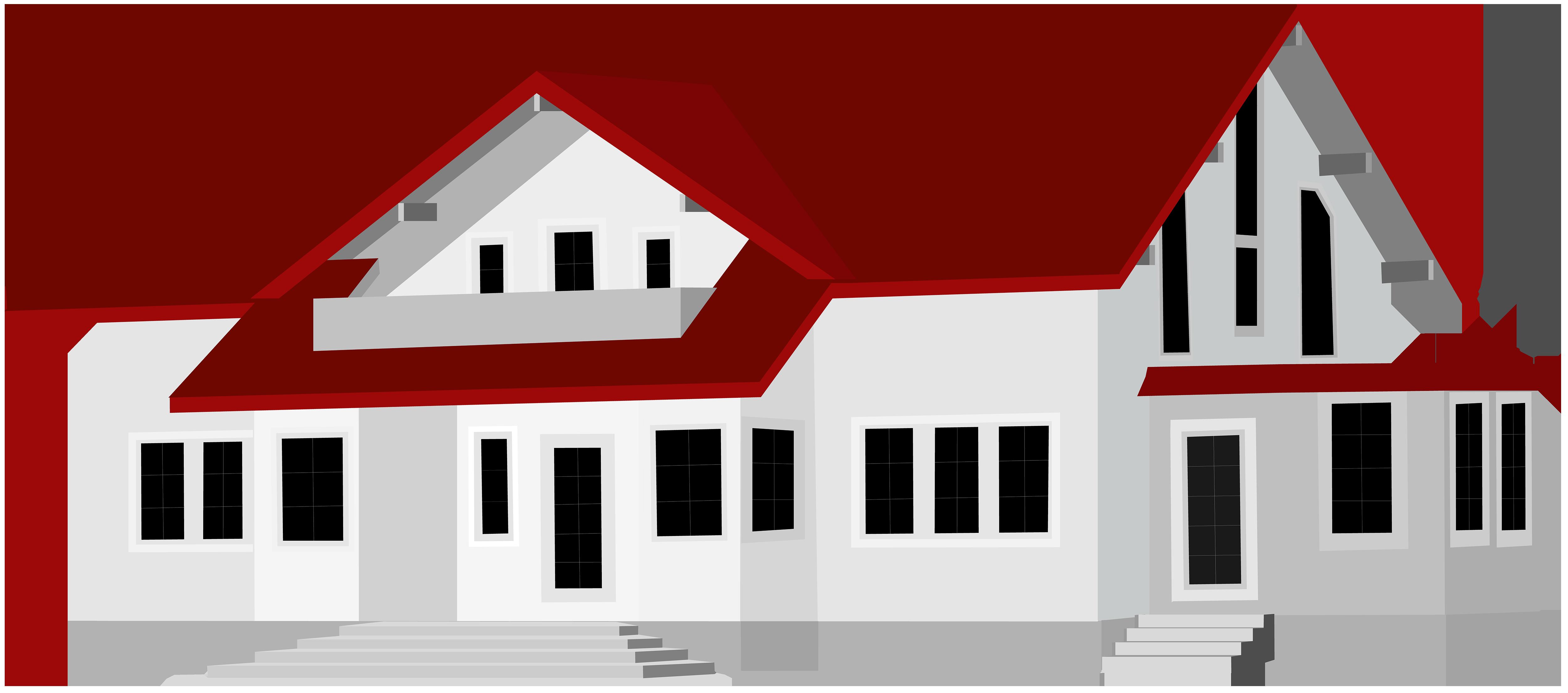 Large clipart images vector transparent download Large House PNG Clip Art - Best WEB Clipart vector transparent download