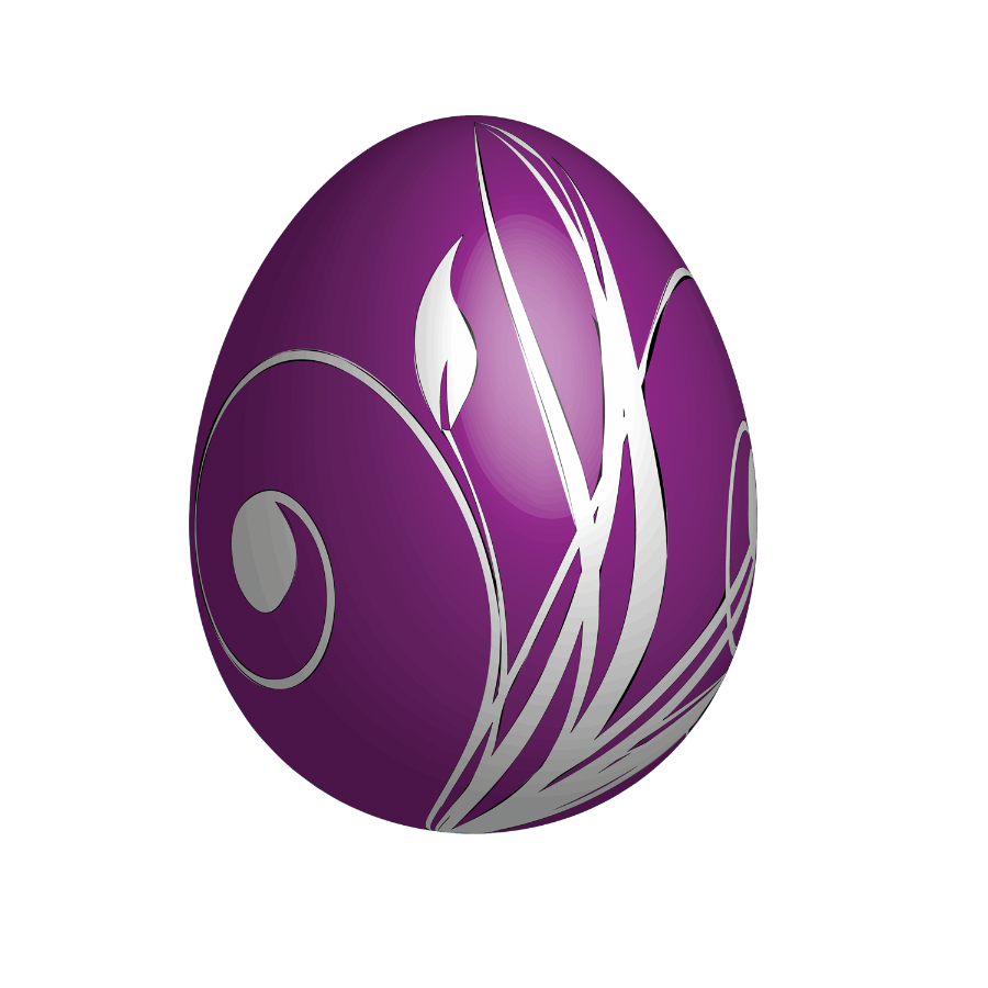 Free purple football clipart png clipart royalty free library Large_Purple_Easter_Egg.png?m=1363561200 clipart royalty free library