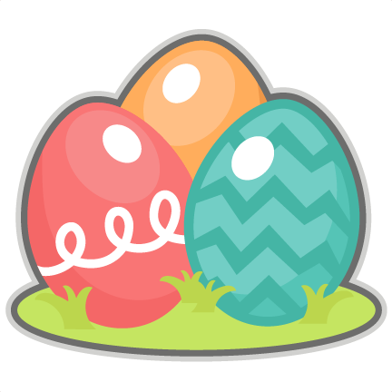Large easter egg clipart clipart free library Easter Eggs scrapbook cuts SVG cutting files doodle cut files for ... clipart free library