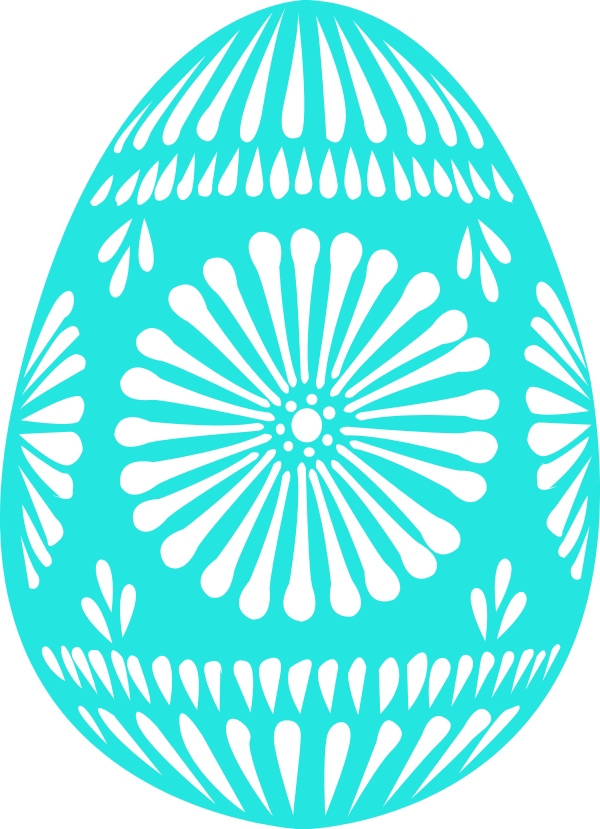 Large easter egg clipart vector free library easter egg single - vector Clip Art vector free library