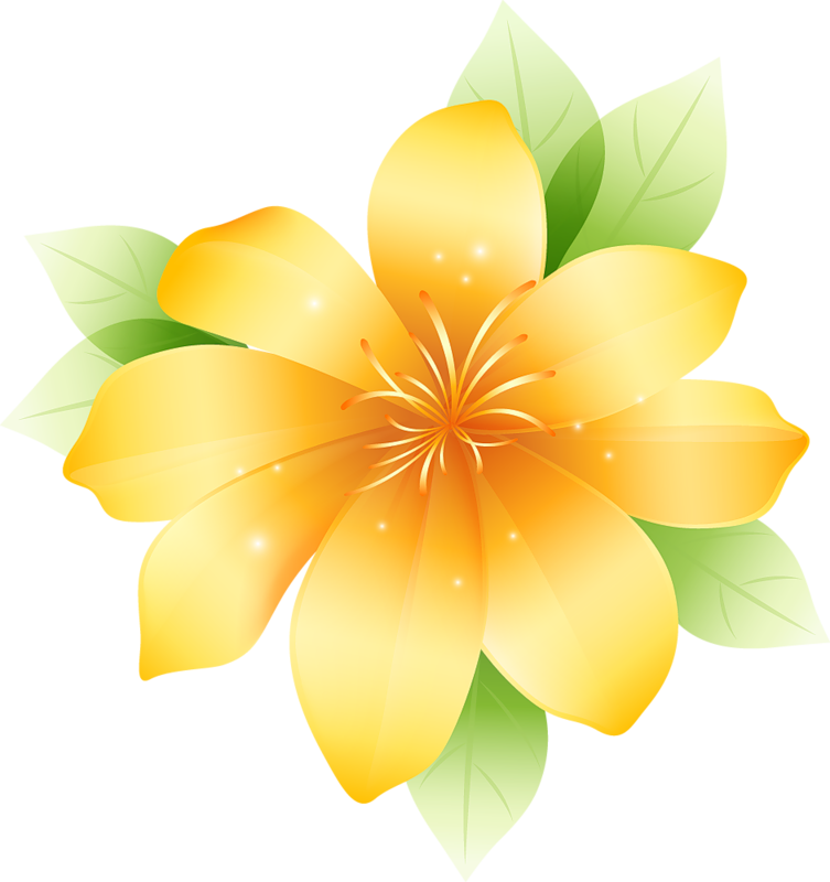 Large flower clipart image freeuse stock Yellow Large Flower Clipart | Gallery Yopriceville - High-Quality ... image freeuse stock