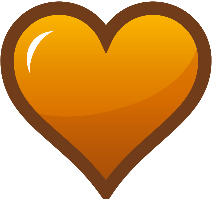 Large heart clipart jpg free library Free Orange Heart Cliparts, Download Free Clip Art, Free Clip Art on ... jpg free library