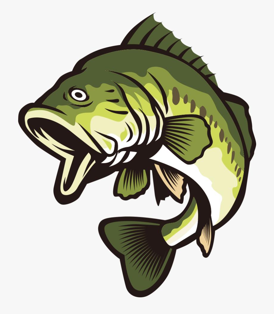 Large mouth bass clipart royalty free download Bass Vector Fish - Largemouth Bass Cartoon Bass Fish #461852 - Free ... royalty free download