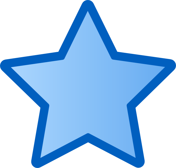 Large star clipart picture library download Blue Star PNG, SVG Clip art for Web - Download Clip Art, PNG Icon Arts picture library download