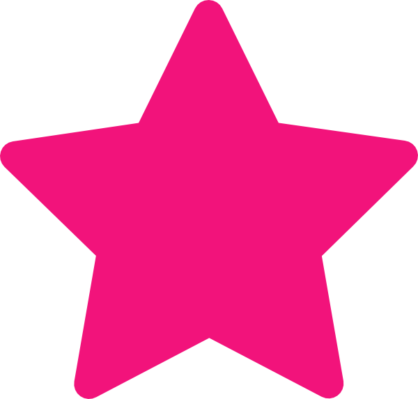 Star clipart with face image transparent library Pink Star Clip Art at Clker.com - vector clip art online, royalty ... image transparent library