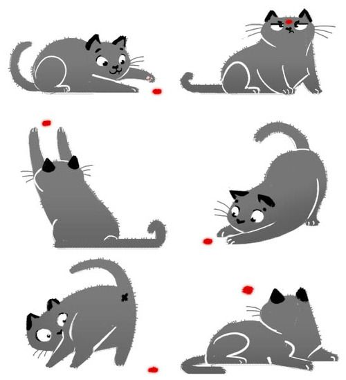 Laser pointer clipart png black and white library 17 Best images about Cat vs The Red Dot on Pinterest | Grumpy cat ... png black and white library