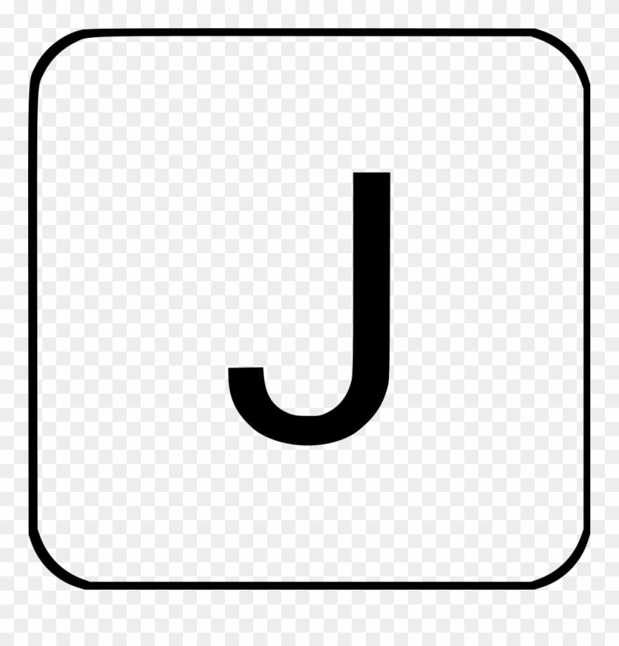 Upper case letter clipart banner transparent download J Virtual Keyboard Latin Alphabet Letter Uppercase Clipart (#2826448 ... banner transparent download
