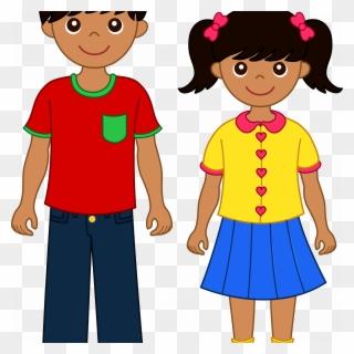 Latino child clipart