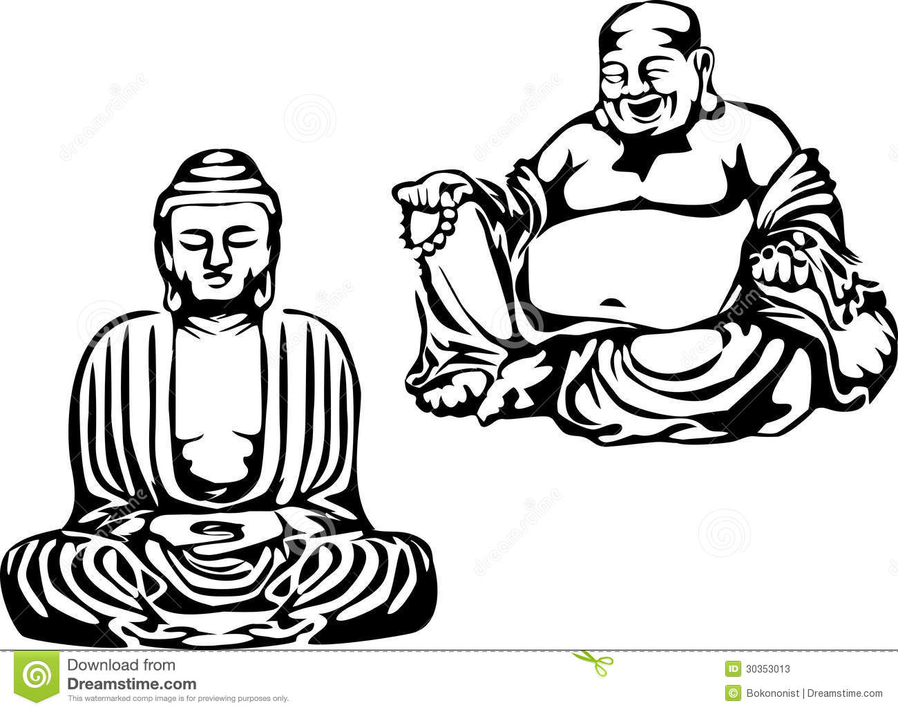 Laughing buddha clipart svg library Laughing Buddha Stock Photos, Images, & Pictures - 834 Images svg library