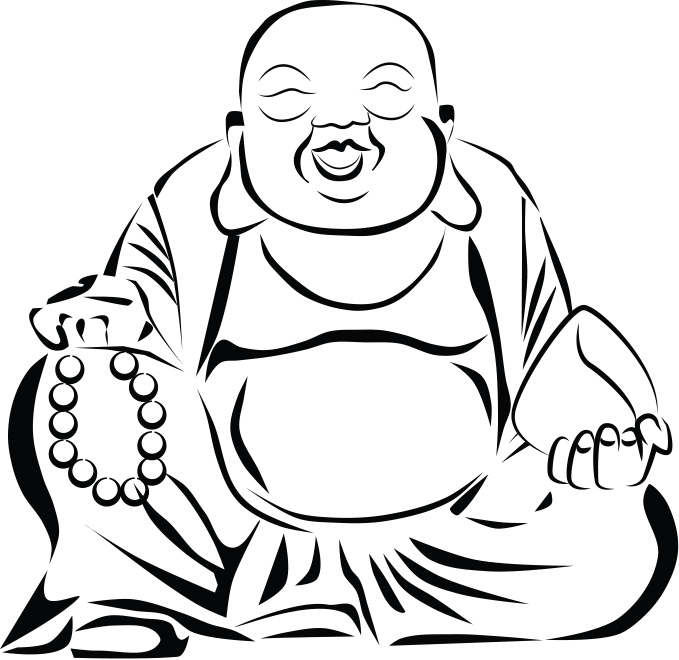 Laughing buddha clipart banner royalty free stock Laughing buddha clipart - ClipartFest banner royalty free stock