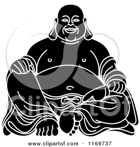 Laughing buddha clipart picture free Royalty-Free (RF) Laughing Buddha Clipart, Illustrations, Vector ... picture free