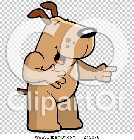 Laughing dog clipart vector transparent stock Royalty-Free (RF) Clipart Illustration of a Dog Laughing And ... vector transparent stock