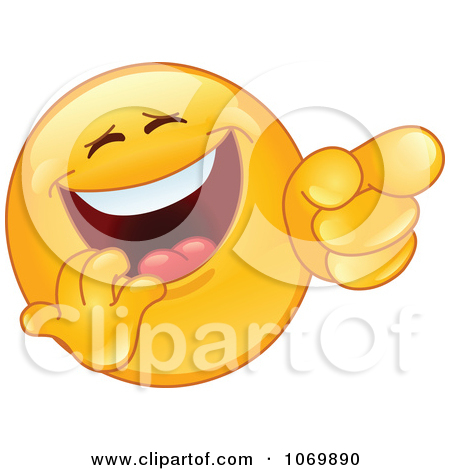 Laughing face clipart png royalty free stock Clipart Laughing And Pointing Emoticon Face - Royalty Free Vector ... png royalty free stock