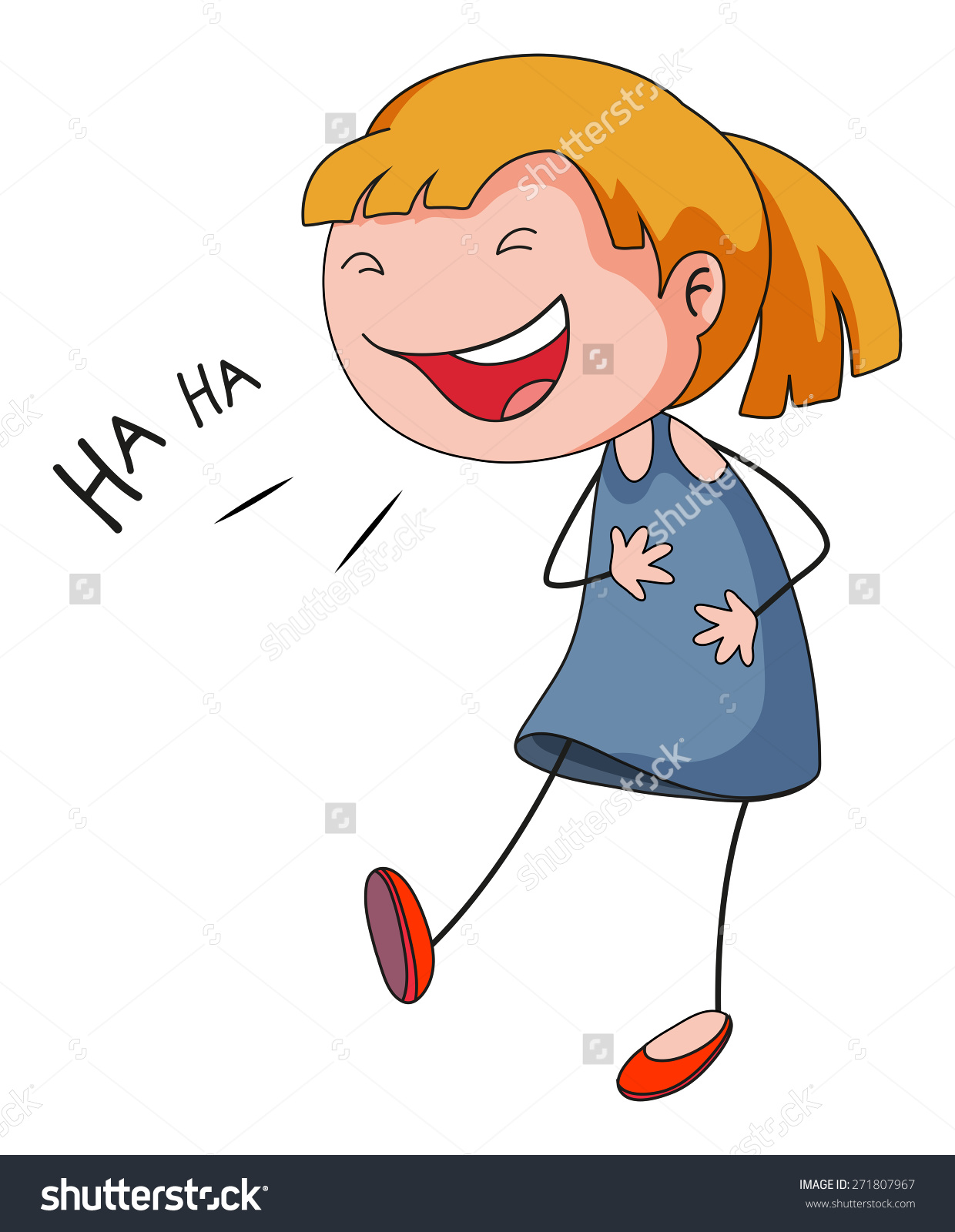Laughing girl clipart svg transparent Laughing girl clipart - ClipartFest svg transparent