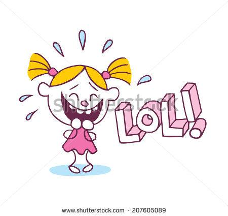 Laughing girl clipart clip freeuse Girl laughing out loud clipart - ClipartFox clip freeuse