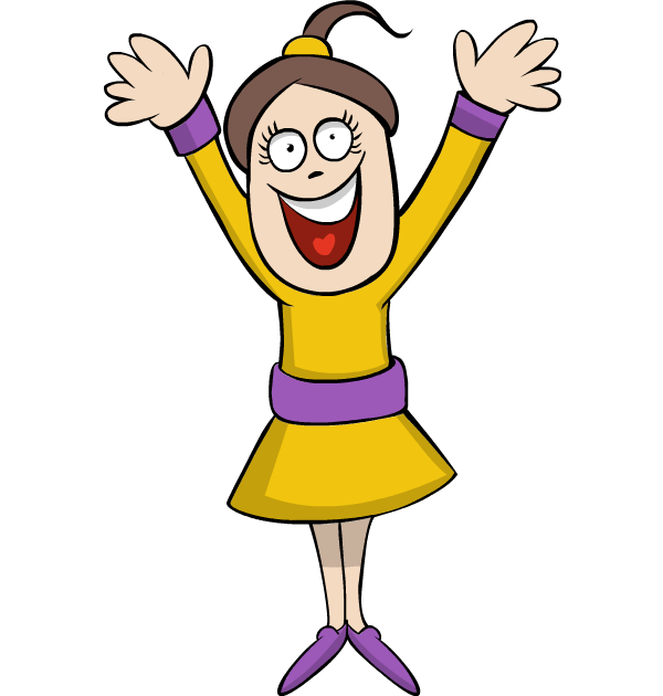 Laughing happy girl clipart clip freeuse library Free Clip art of Happy Girl Clipart #784 Best Laughing Happy Girl ... clip freeuse library
