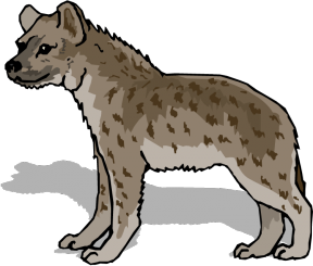 Laughing hyena clipart image royalty free Laughing Hyena Pictures - Cliparts Zone image royalty free