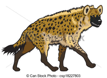 Laughing hyena clipart vector black and white stock Spotted hyena Illustrations and Clipart. 62 Spotted hyena royalty ... vector black and white stock