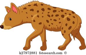 Laughing hyena clipart black and white library Laughing hyena Clipart Illustrations. 32 laughing hyena clip art ... black and white library