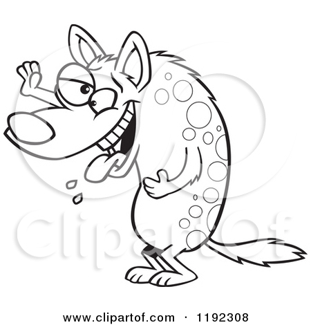 Laughing hyena clipart graphic transparent download Royalty-Free (RF) Laughing Hyena Clipart, Illustrations, Vector ... graphic transparent download