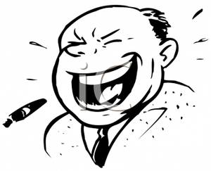 Laughing man clipart hd clip art black and white Man laughing at jesus clipart - ClipartFest clip art black and white