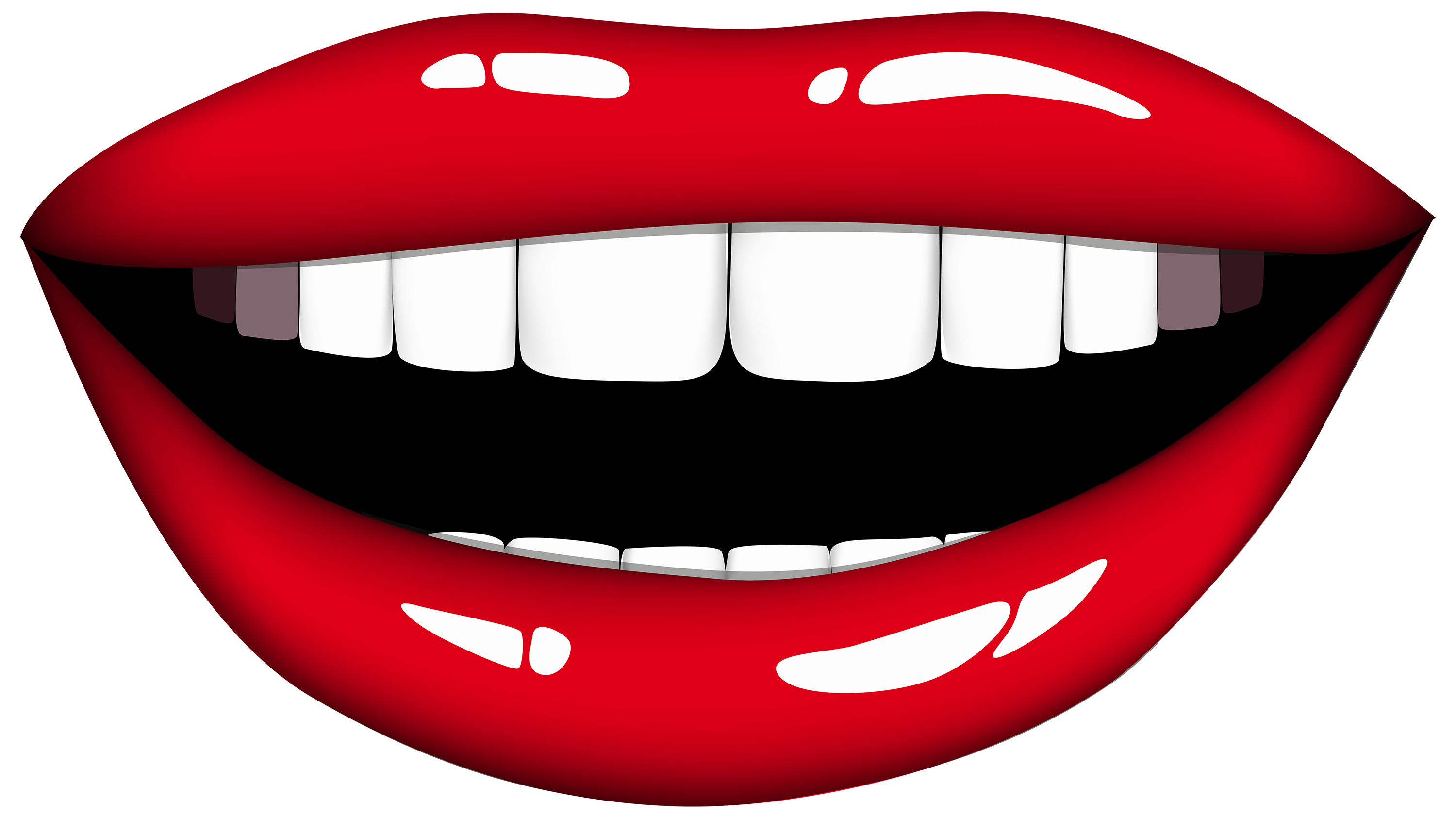 Smiling heart clipart png freeuse library Laughing mouth free clipart - ClipartFest png freeuse library