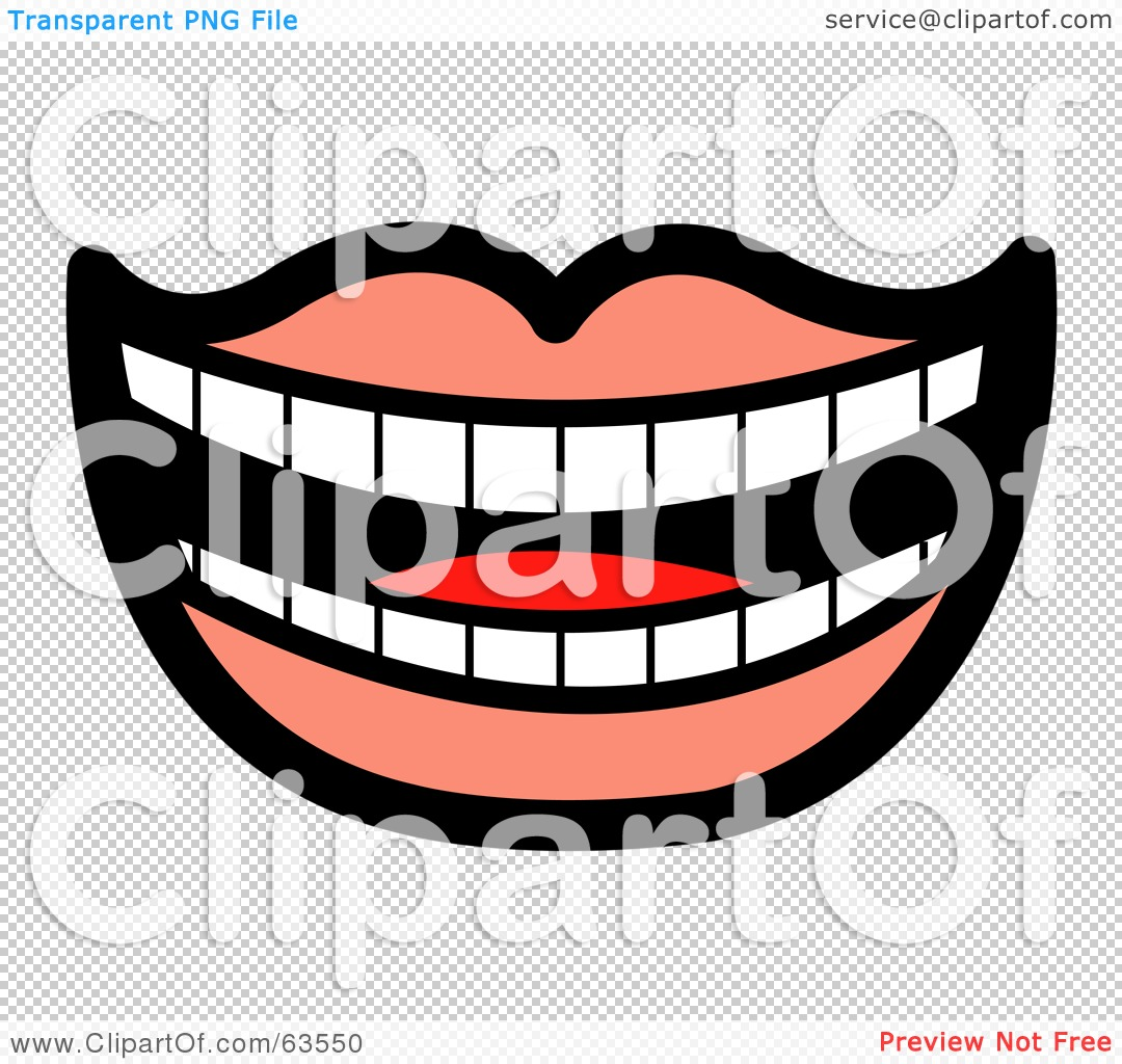Laughing mouth free clipart graphic royalty free Royalty-Free (RF) Clipart Illustration of a Laughing Mouth Lined ... graphic royalty free