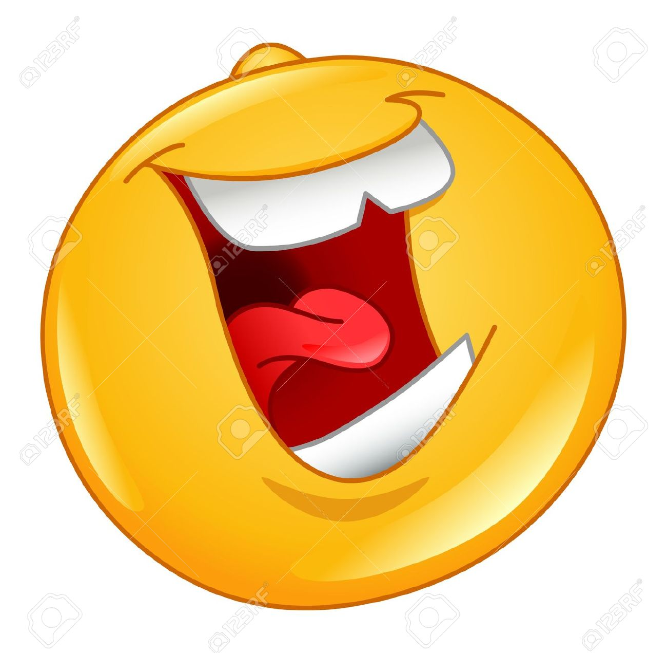 Laughing mouth free clipart png free Laughing Out Loud Emoticon Royalty Free Cliparts, Vectors, And ... png free