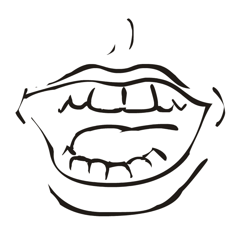 Laughing mouth free clipart svg freeuse download Laughing mouth free clipart - ClipartFest svg freeuse download