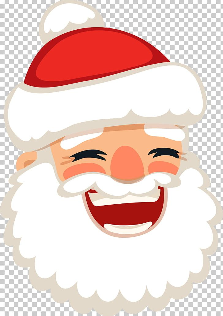 Santa laughing clipart svg download Santa Claus Laughter Christmas PNG, Clipart, Adobe Illustrator, Art ... svg download