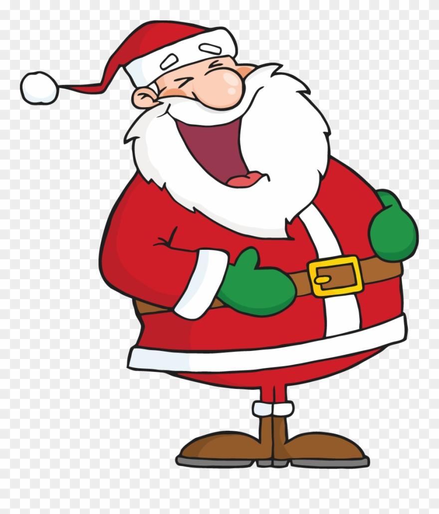 Laughing santa clipart svg library stock Funny Christmas Jokes - Santa Laughing Clipart - Png Download ... svg library stock