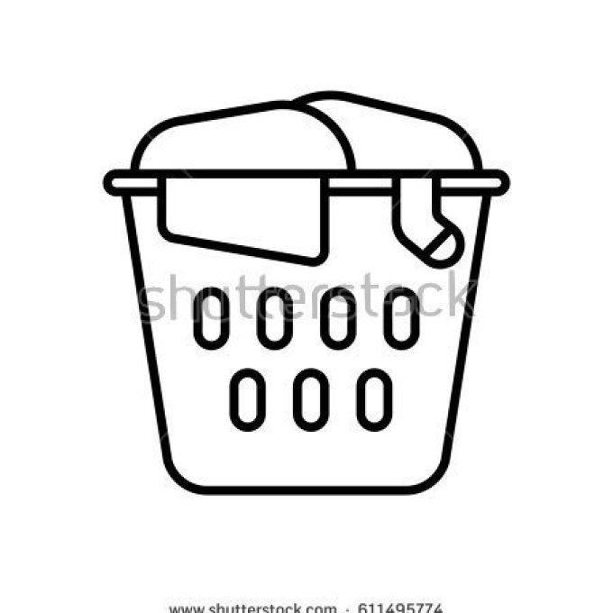 Laundry basket black and white clipart clipart royalty free stock Laundry Basket Clip Art (63 ), Laundry Basket Clip Art, Laundry ... clipart royalty free stock