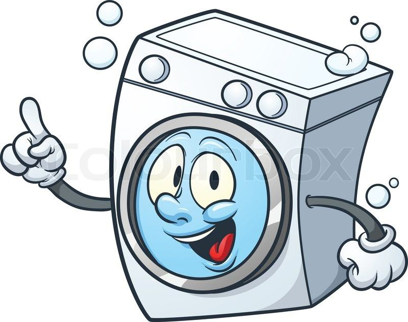 Washing machine clipart picture clipart library Funny Washing Machine Clipart | stickers | Washing machine, Laundry ... clipart library