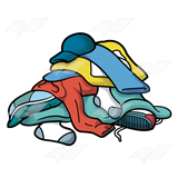 Laundry pile clipart vector library Pile of clothes clipart clipart images gallery for free download ... vector library