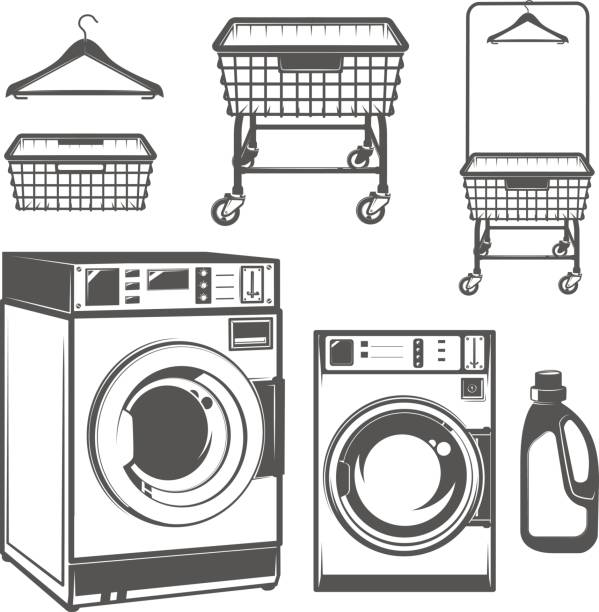 Laundry room clipart black and white clipart royalty free library Laundry Room Clipart Black And White clipart royalty free library
