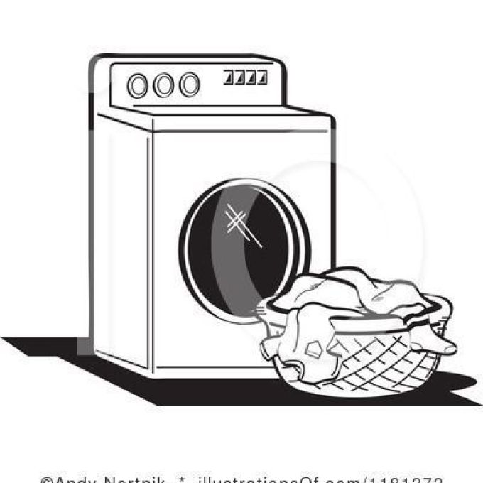 Laundry room clipart black and white clipart freeuse 32 Laundry Basket Clip Art, Put Dirty Clothes In Hamper, Dirty ... clipart freeuse