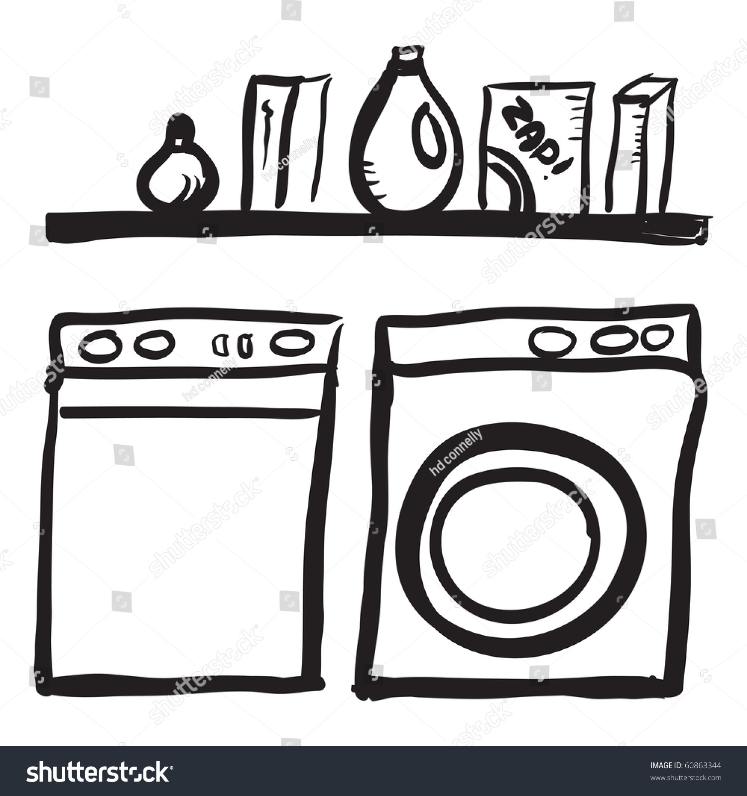 Laundry room clipart black and white clipart download Laundry Room Clip Art Cliparts, Clip Art Black White Laundry Bags ... clipart download