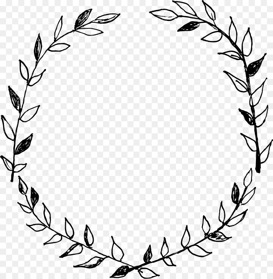 Laurel clipart black and white jpg library stock Laurel Wreath Drawing Clip Art - Black D #153972 - PNG Images - PNGio jpg library stock