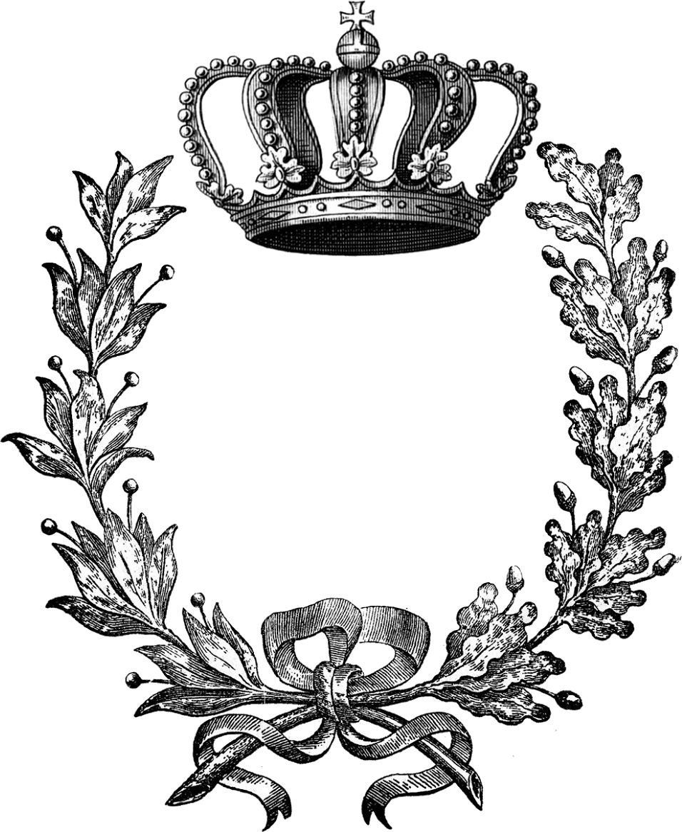 Laurel crown black and white clipart image library library Laurel wreath Crown Clip art - kate hudson 956*1166 transprent Png ... image library library