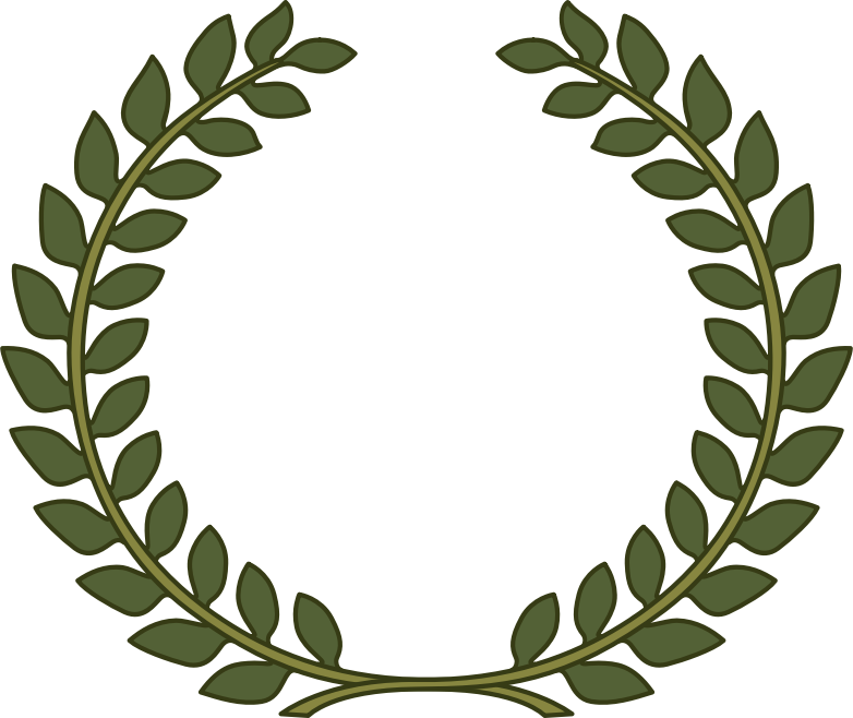 Olive crown clipart royalty free Clipart - Laurel Wreath, Laurel Leaf royalty free