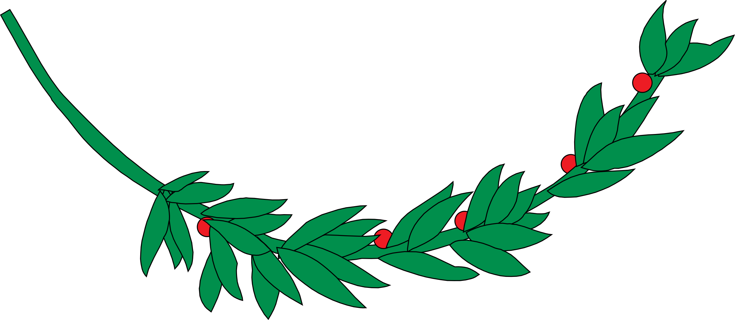 Laurel tree clipart banner freeuse download Laurel branch 8 Icons PNG - Free PNG and Icons Downloads banner freeuse download