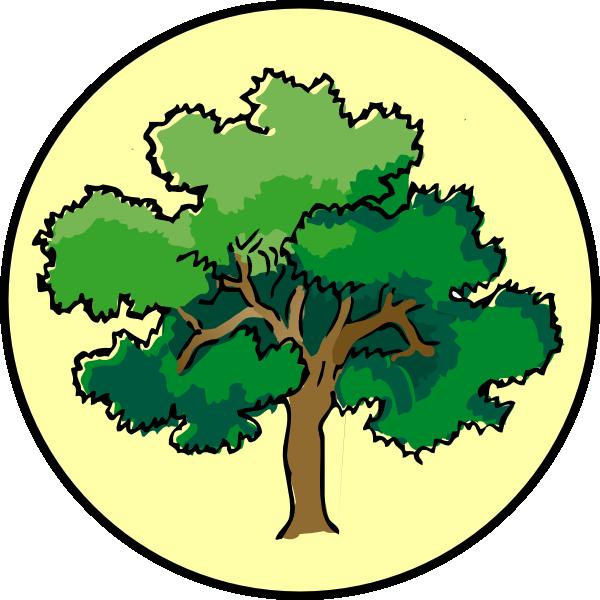 Laurel tree clipart banner transparent download Tree Clip Art at Clker.com - vector clip art online, royalty free ... banner transparent download