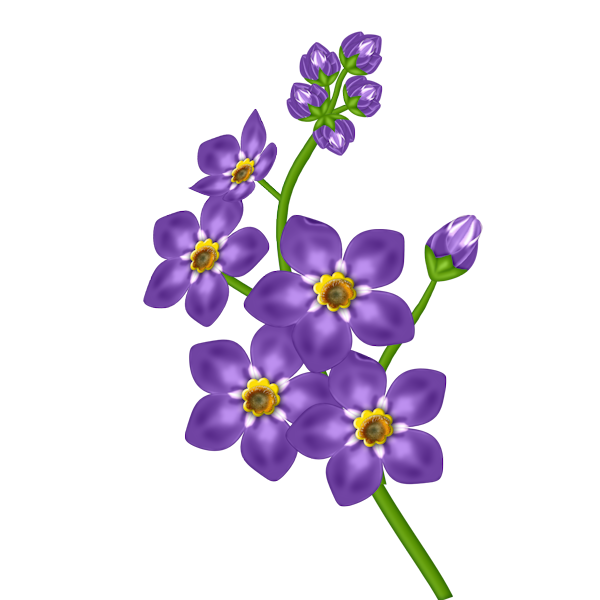 Lavendar flower clipart vector transparent library The Top 5 Best Blogs on Lavender Flower Clip Art Free vector transparent library