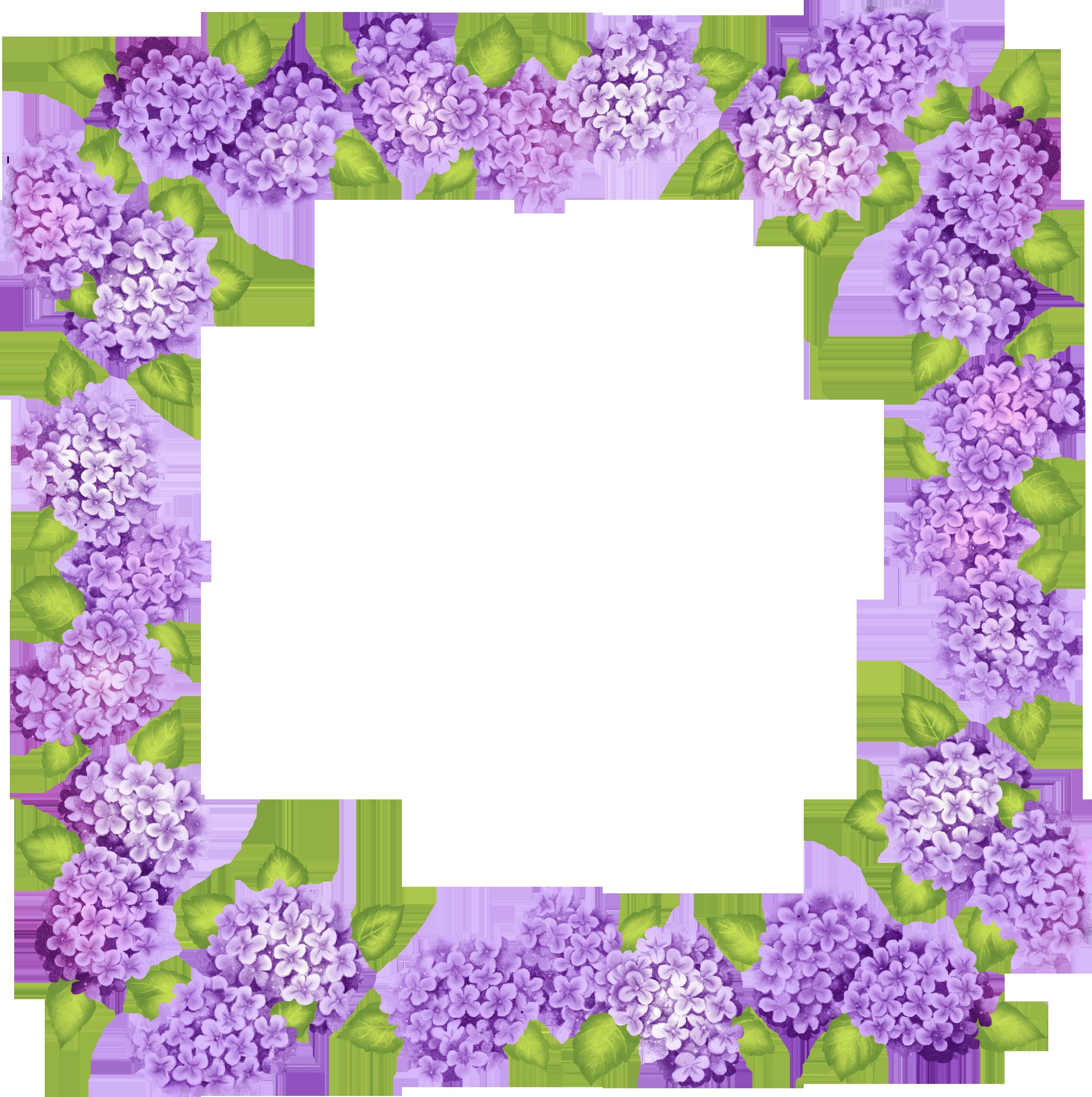 Purple flower vine clipart jpg library download Transparent Purple Frame | Purple Frame Polyvore Edits | Frames 1 ... jpg library download